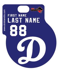 Dodgers White D