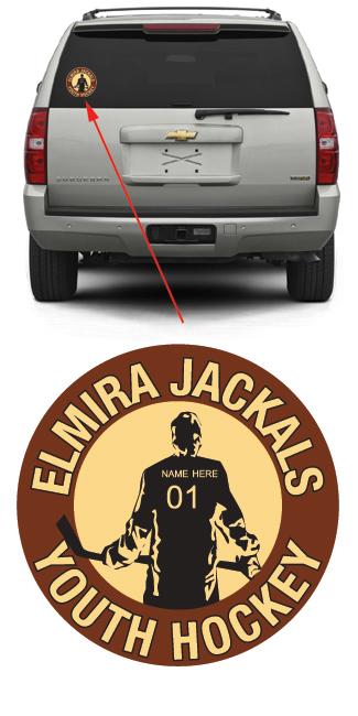 Elmira Jackels Youth Hockey Player