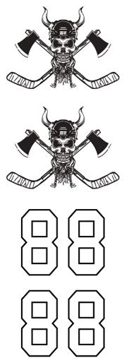 WH Skull Hockey Team