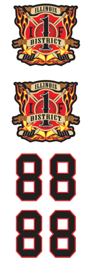 Illinois District 1 Firefighters