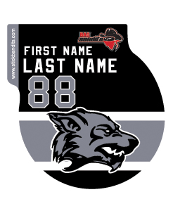 Fremont Ice Wolves Gray Hockey