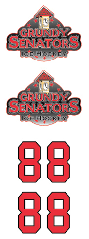 Grundy Senators Gray Hockey