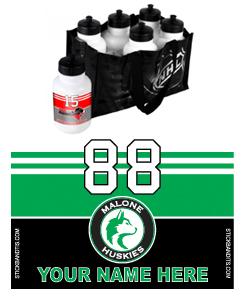 Malone Minor Hockey Association (green)