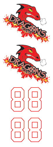 Pekin Dragons 2 Hockey