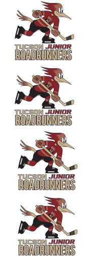 Tucson Jr Roadrunners Helmet Logos