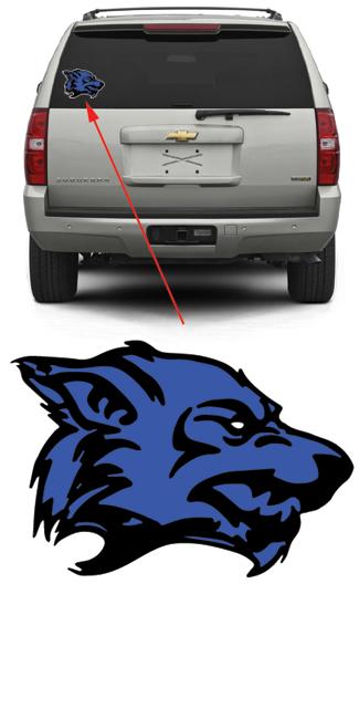 Fremont Ice Wolves Blue Hockey
