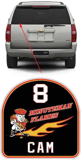 Cam Car Sticker Order