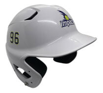 Baseball Helmet Logo & Number Stickers